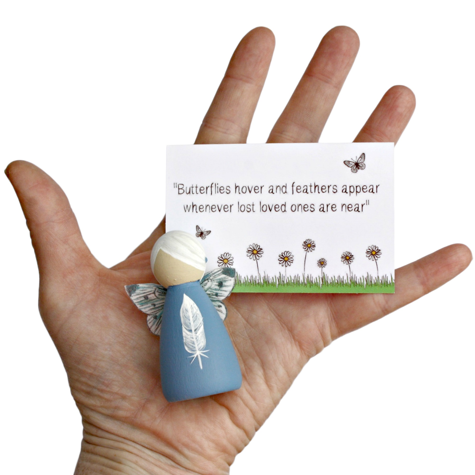 bereavement feather fairy gift