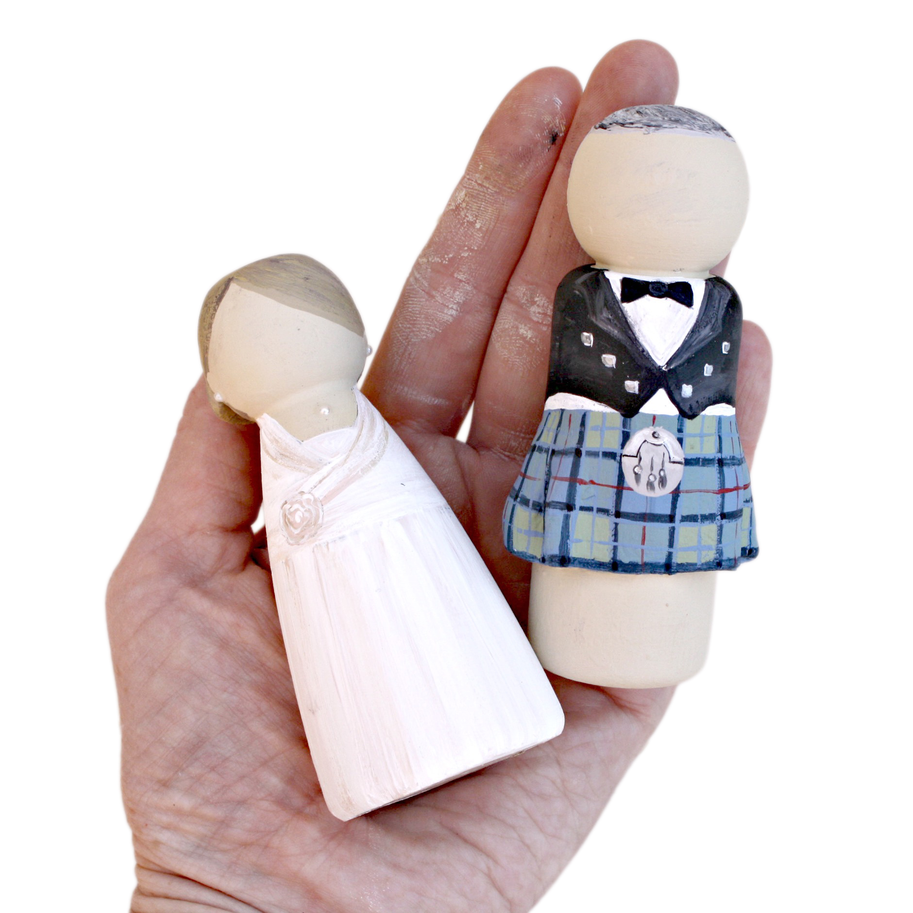 peg doll wedding cake toppers uk groom and wedding cake topper lotty lollipop 18184