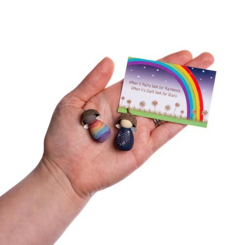 Rainbow Star Friendship Gift